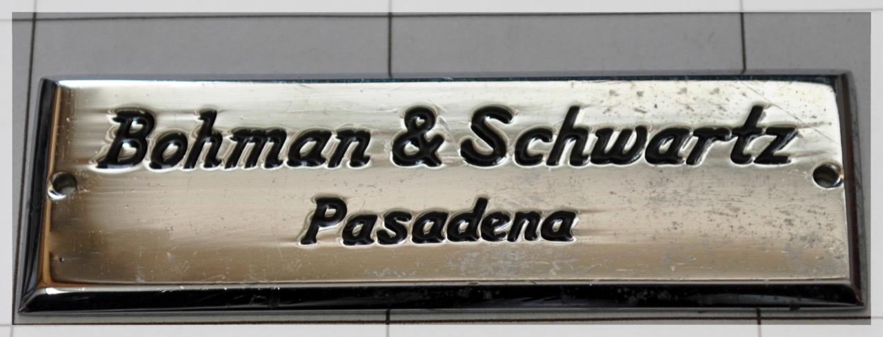 Bohman & Schwartz - 1