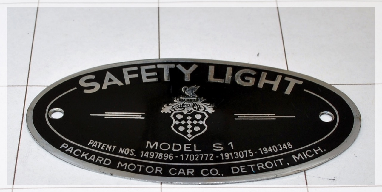 Packard Safety Light
