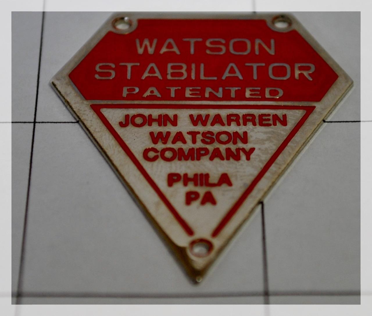 Watson Stabilator